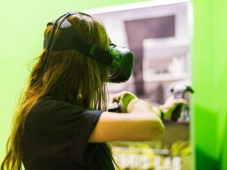 VR Greenscreen