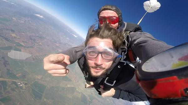 matt skydiving