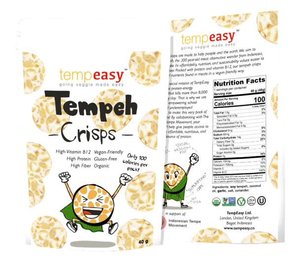 tempeasy protein crisp